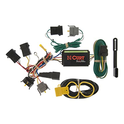 amazon com: curt 55366 vehicle-side custom 4-pin trailer wiring harness for  select ford windstar: automotive