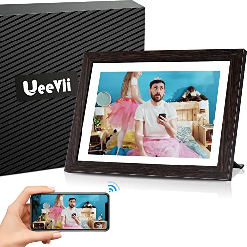 UeeVii WiFi Digital Picture Frame 10.1 Inch Digital Photo Frame WiFi