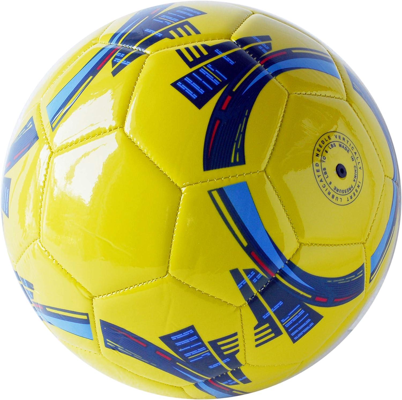 Colore: Giallo Pallone da Calcio da Allenamento O Partita Misura 5 Lucido