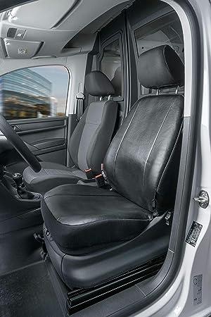 Sitzbezüge Schonbezüge Autositzbezüge  Passgenau für VW Caddy II Kunstleder