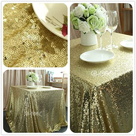 rectangle light gold sequin tableclothhand embroidery designs christmas coloring retangle tablecloth for party