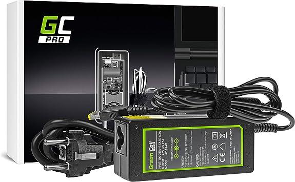 GC Pro Cargador para Portátil Lenovo Yoga 500-14ISK 80R5 80RL 500-15IBD 80N6 500-15IHW 80N7 Ordenador Adaptador de Corriente (20V 3.25A 65W): Amazon.es: Electrónica