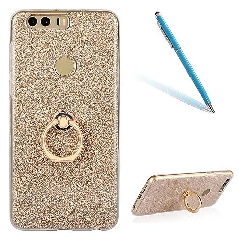 CLTPY Huawei Honor 8 Funda, Huawei Honor 8 Carcasa Cristal ...