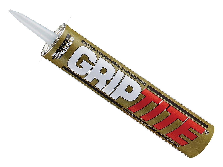 Everbuild EVBGTITEC3 310 ml Grip Tite Construction Adhesive Toolbank GRIPTITEC3-EBD