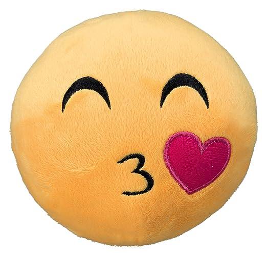 Trixie 34775 Smiley Kusschen Plusch Amazon De Haustier