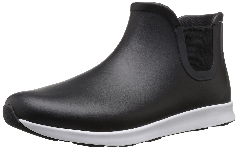 native Men's Apollo Rain Shoe B011PLLP1U 9 D(M) US|Jiffy Black/Shell White/Jiffy Black Rubber