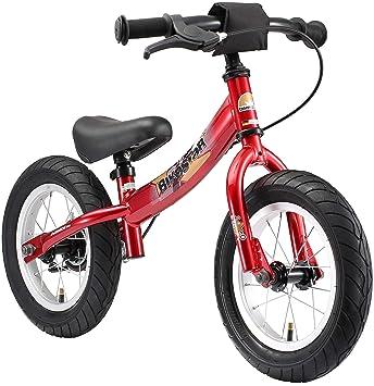 Bikestar - Bicicleta de Equilibrio para niños a Partir de 3 años, edición Deportiva de 12 Pulgadas, Color Rojo