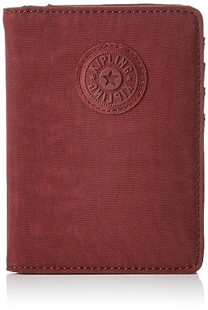 Kipling PASS PORT Cartera para pasaporte, 14 cm, 0.01 litros, Marrón (Burnt Carmine M): Amazon.es: Equipaje