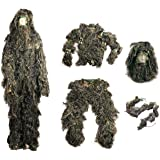 ESYN tactique Camouflage Woodland 3D Bionic Sniper Training Ghillie Suit