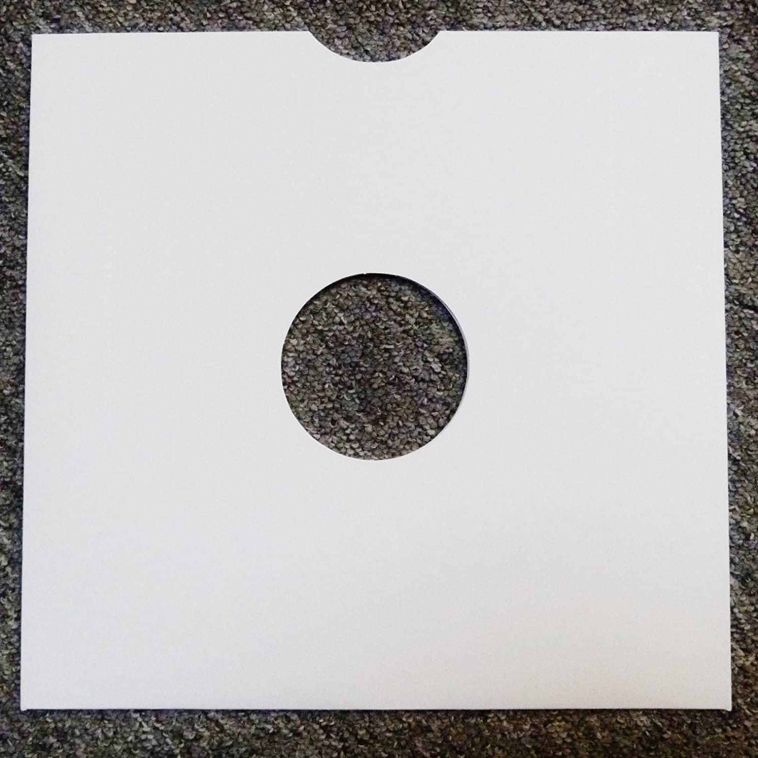 10 x 12 White Card Record / 78 Archive Sleeves lewthwaitemusic
