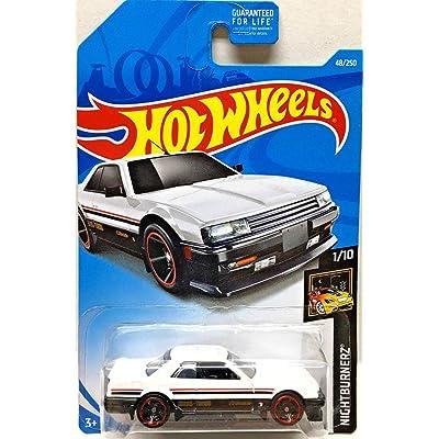 Hot Wheels 2020 Nightburnerz Nissan Skyline RS (KDR30) 48/250, White: Toys & Games