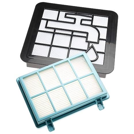 vhbw Set de filtros de recambio para aspiradoras Philips FC8010/01 ...