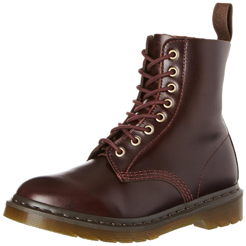 Dr. Martens Women's Pascal 8-Eye Boot Brown 3 F(M) UK / 5 B(M) US R16179230 DMSPASCCHBR16179230_Charro-3