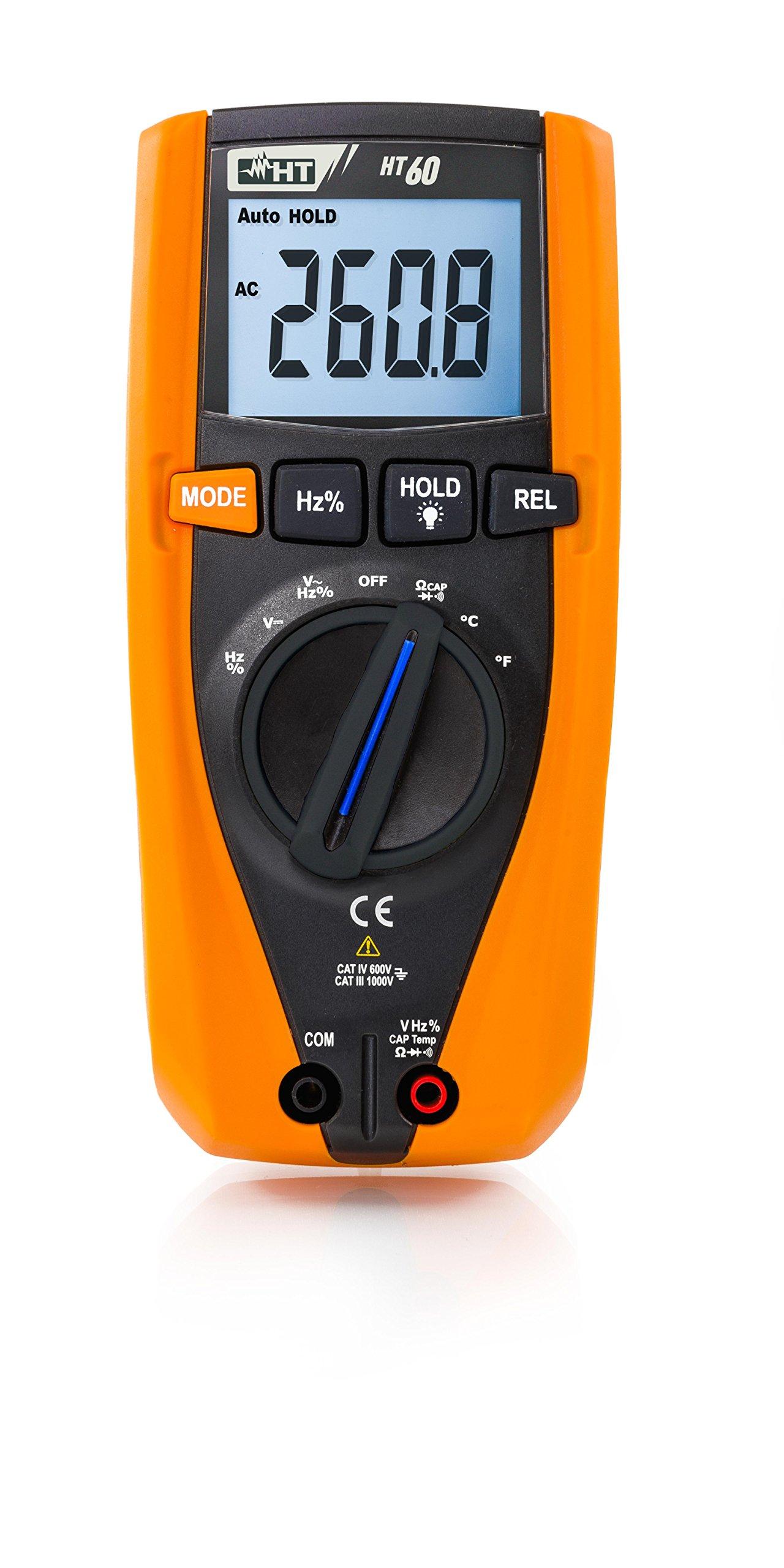 HT Instruments HT60 Multimeters - Type: Digital, Style: Hand-Held