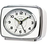 Acctim 13872 Retro 2 Reloj con alarma, color blanco
