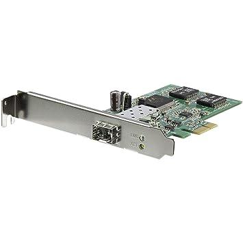 StarTech.com PEX1000SFP2 - Tarjeta PCI Express con 1 Puerto SFP Abierto
