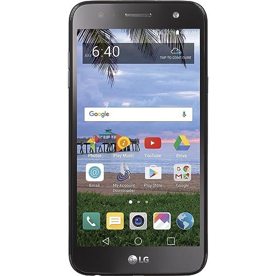 amazon com tracfone lg fiesta 4g lte prepaid smartphone cell rh amazon com