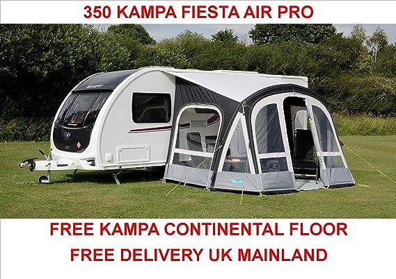 Kampa Fiesta 350 Air Pro Teppich Auto