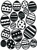 Darice Easter Egg Background Embossing Folder