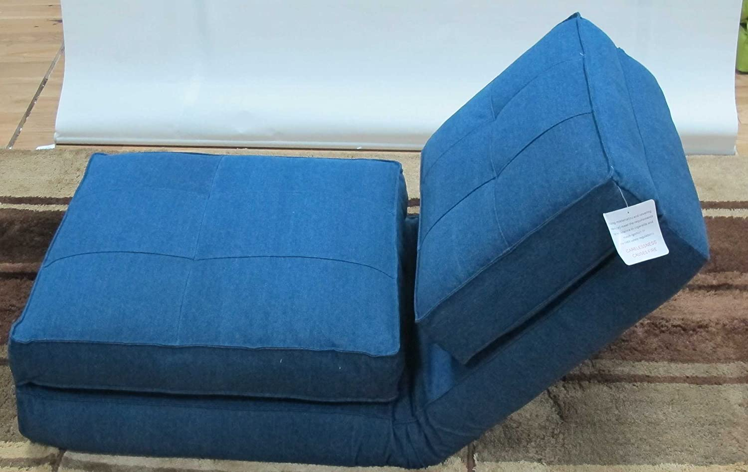 Modern Simply Stylish Sofa Bed Games Chair Recliner Chair Denim