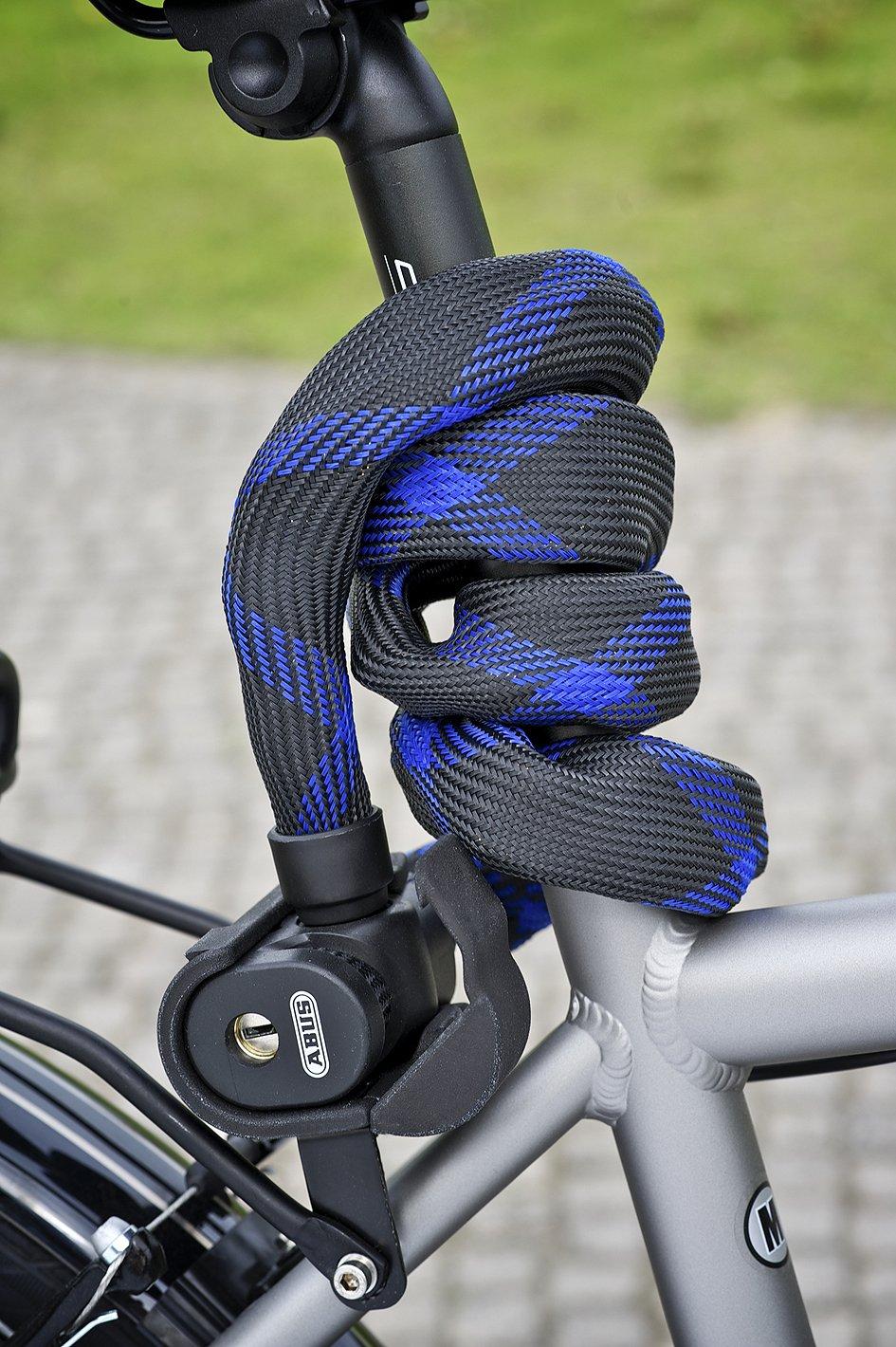 ABUS Ivera Steel-O-Flex 7200/110 cabel lock RBU black by ABUS (Image #7)
