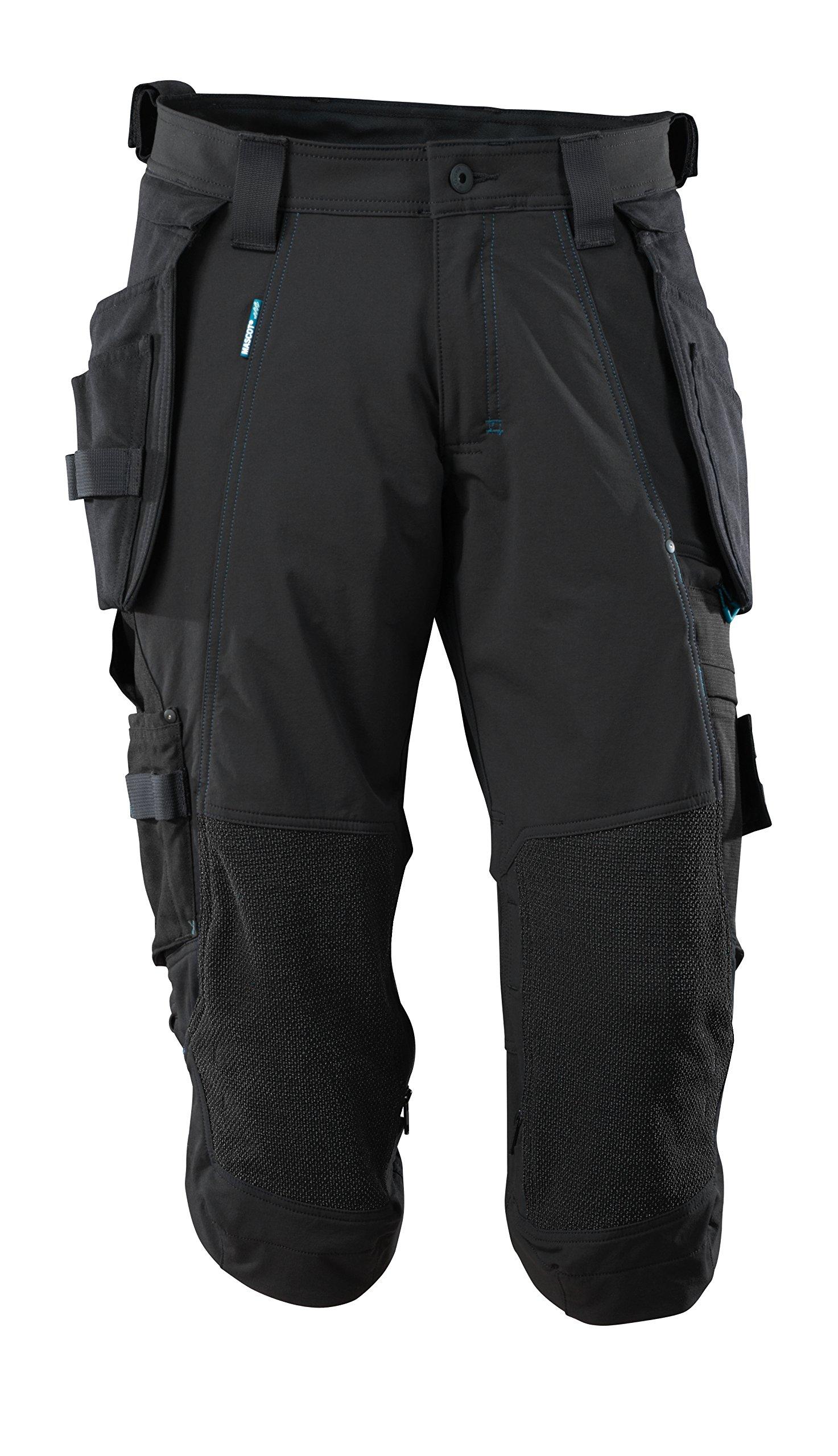 Mascot 17049-311-09-C64 Stretch Shorts Size C64, Black