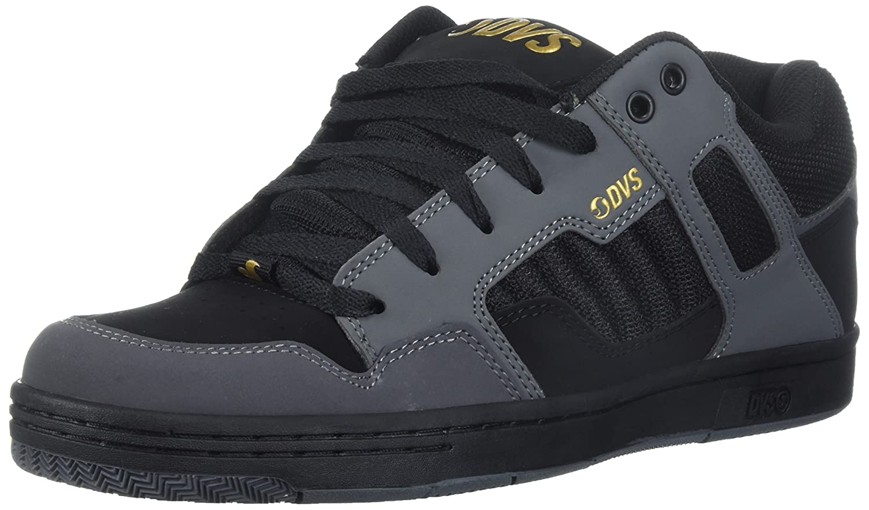 DVS Men's Enduro 125 Skate Shoe 9.5 M US Castlerock Black Nubuck Anderson
