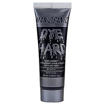 Manic Panic Dye-Hard Temporary Hair Color Styling Gel, Raven Black