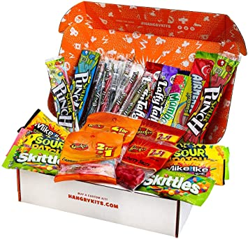 b73ade6fa Amazon.com : HANGRY KIT - Super Duper Sour Kit - Candy Sampler (36 ...