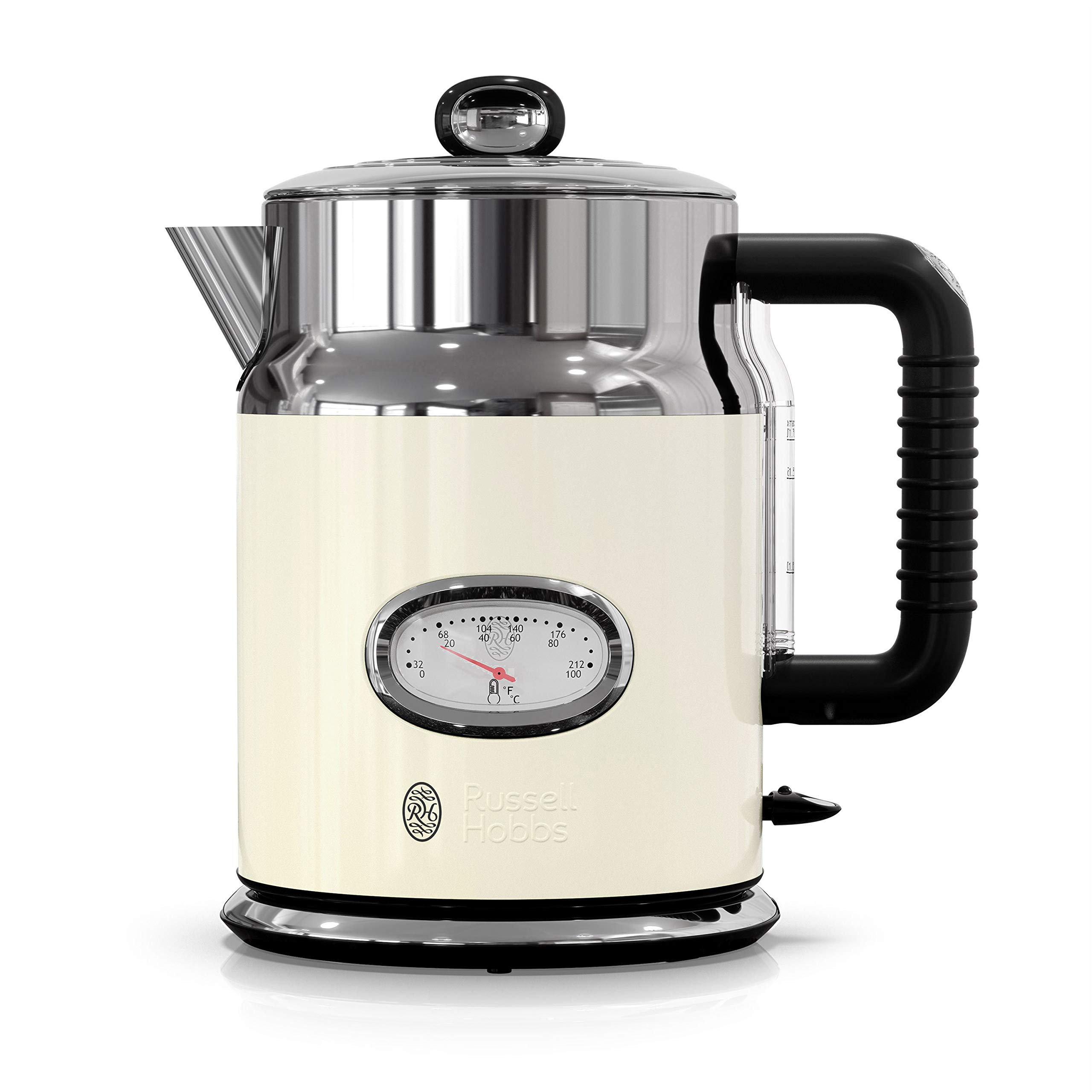 Russell Hobbs KE5550CRR Retro Style Electric Kettle, 1.7L, Cream by Russell Hobbs (Image #8)