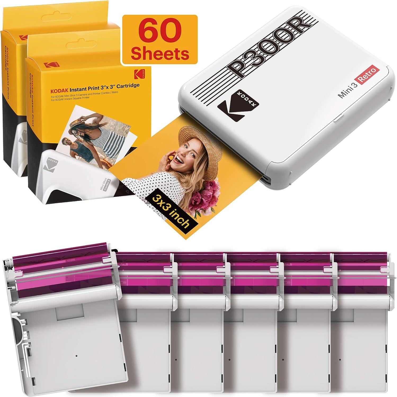 Kodak Mini 3 Retro Fotodrucker Tragbar Ios Android Computer Zubehör