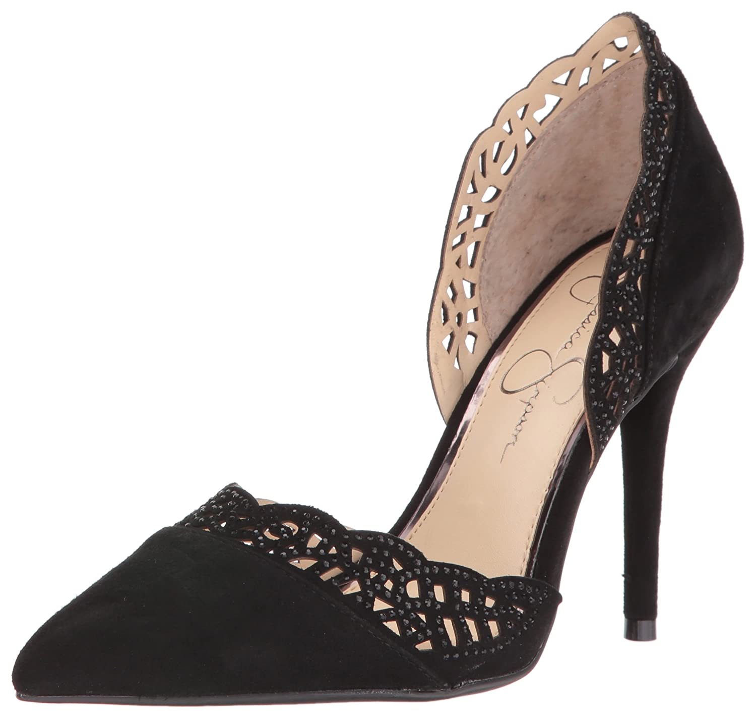 Jessica Simpson Women's Teriann Dress Pump B01HOE3XIA 10 B(M) US|Black