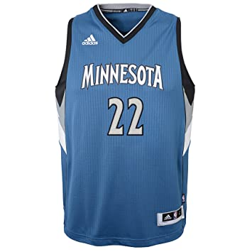 8db71338e Image Unavailable. Image not available for. Color  Outerstuff NBA Minnesota  Timberwolves Andrew Wiggins Boys Player Swingman Road ...