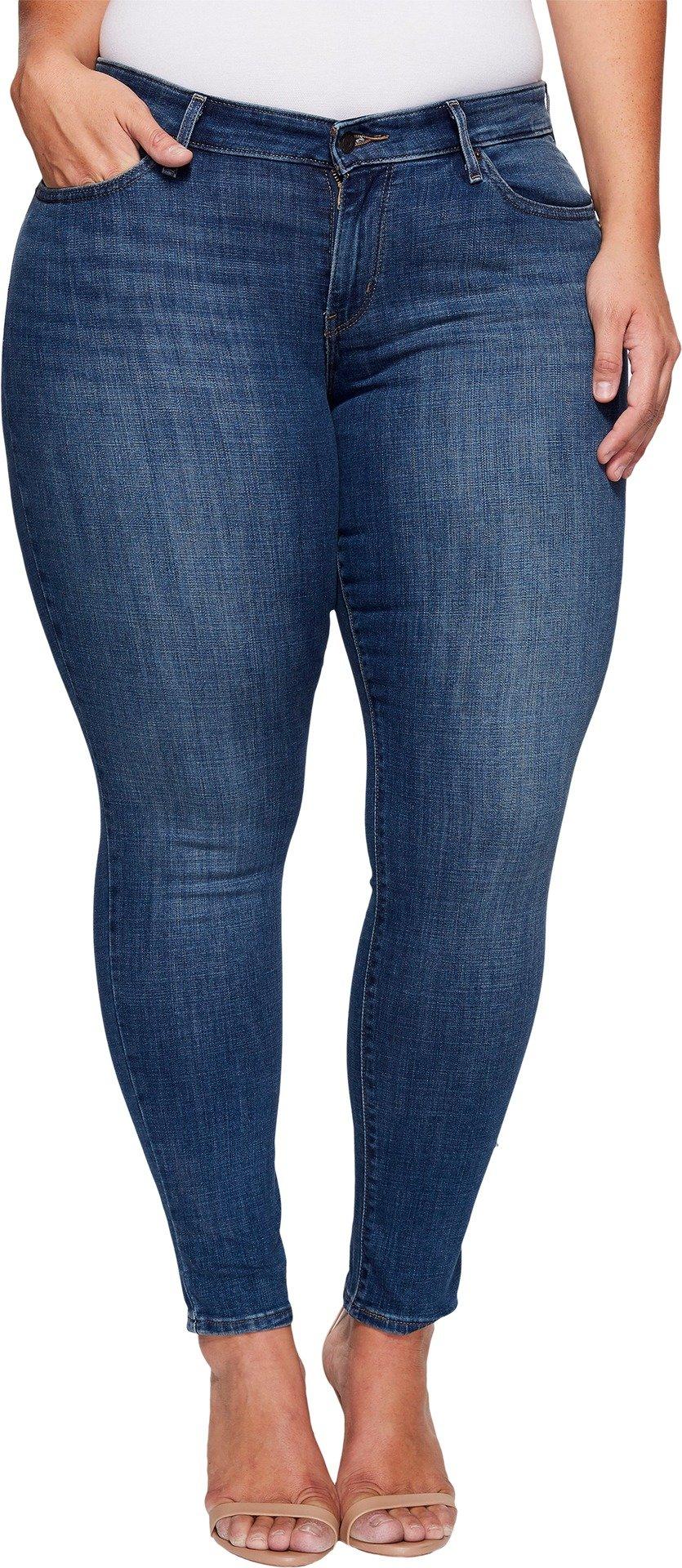 Levi's Women's 711 Skinny Jeans, Indigo Harmony, 36 (US 16) R
