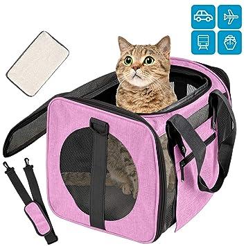 Amazon.com: Moyeno Transportador de gatos para perros ...