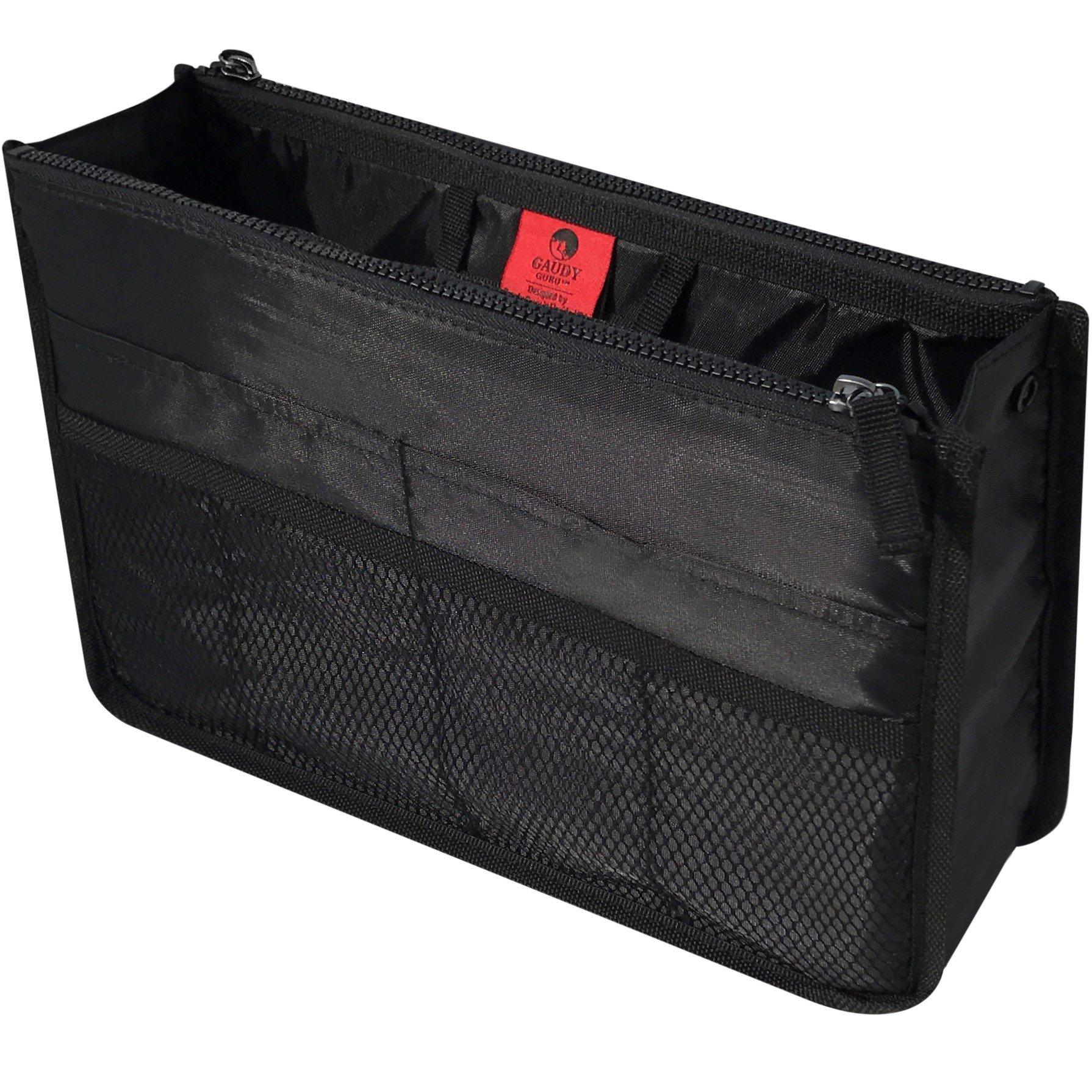 Gaudy Guru Clutter Control Handbag & Purse Organizer Insert, Large (22CM x 34CM x 10CM) Firm and Sturdy