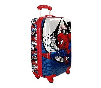 66fe48de2 2161761 Maleta trolley rigida ABS equipaje de mano SPIDERMAN 55 x 33 x 20 cm:  Amazon.es: Equipaje