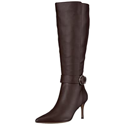 NINE WEST Women's MORETALKNW Synthetic Knee High Boot | Knee-High
