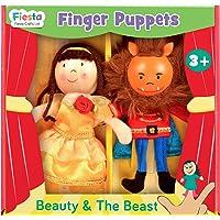 FIESTA Crafts–t-2876Belleza y la Bestia Juego de Marionetas