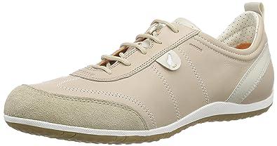 2e623f87329 Geox D Vega A, Women's Low-Top Sneakers, Beige (Lt Taupec6738)
