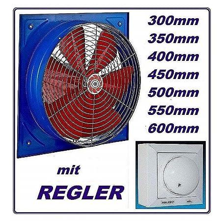 600mm Industrial Axial Fan with 500 W Speed Regulator