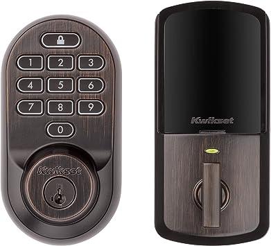 Kwikset Halo 99380-001 Wi-Fi Smart Lock Keyless Keypad Deadbolt Satin Nickel NEW