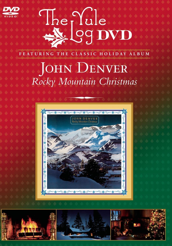 Amazon.com: Rocky Mountain Christmas - The Yule Log DVD: John Denver ...
