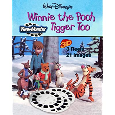 Winnie the Pooh and Tigger too - Classic ViewMaster 3Reel Set: Toys & Games
