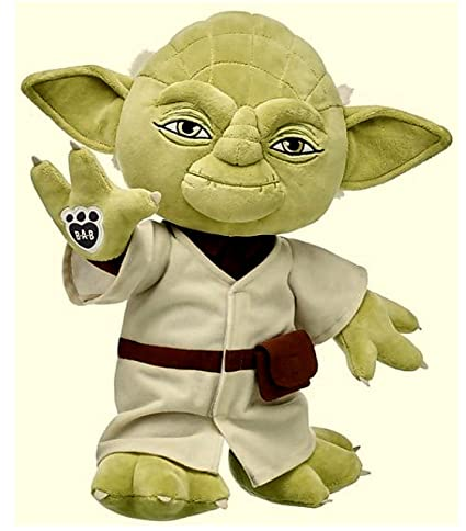 Image result for baby yoda build a bear