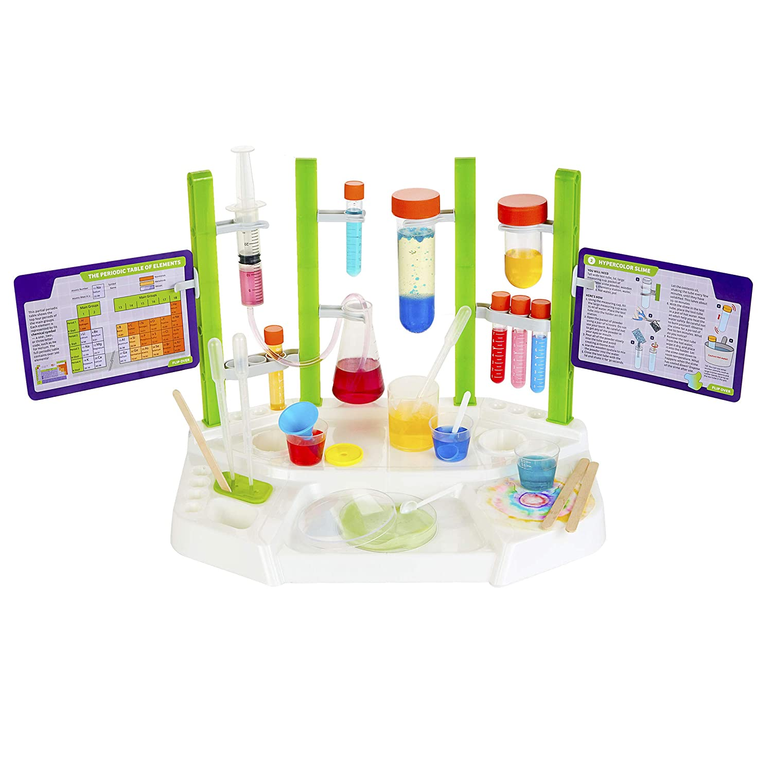 Amazon.com: Thames & Kosmos 642105 Ooze Labs Chemistry Station Science  Experiment Kit: Toys & Games