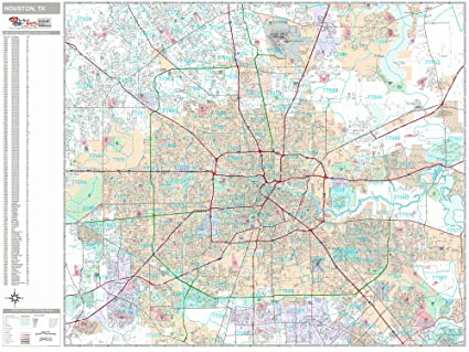 City Of Houston Map on