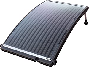 GAME 4721-BB SolarPRO Curve Solar Pool Heater, Made for Intex & Bestway Above-Ground and Inground Pools, Includes Intex Adapters, 2 Hoses & Clamps
