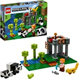 LEGO Minecraft The Panda Nursery 21158 Construction Toy for Kids, Great  Fans of Minecraft and Pandas