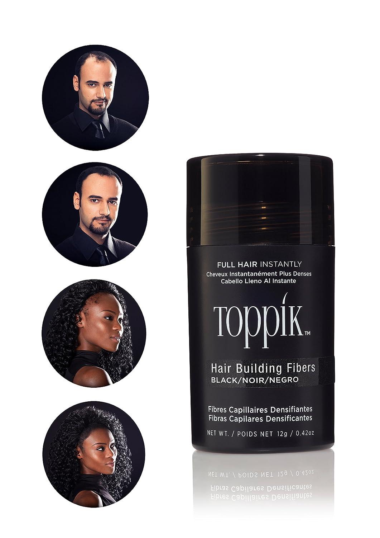 TOPPIK Hair Building Fibers Spencer Forrest Inc. TTD12A